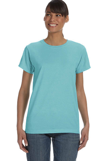 Comfort Colors Ladies Tee Chalky Mint