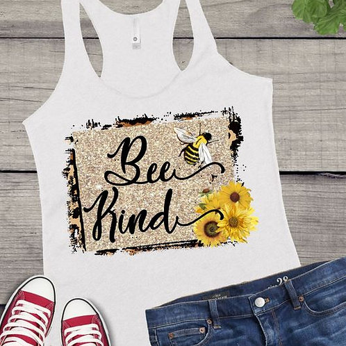Tank Top SUBLIMATED GRAPHIC SHIRT Be Kind