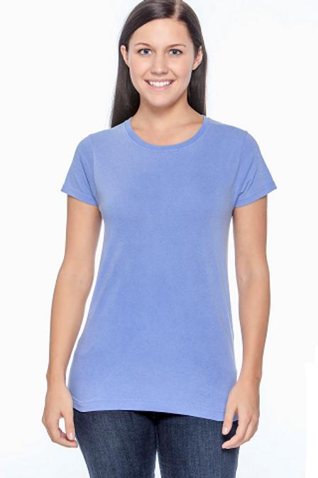 Comfort Colors Ladies Tee Flo Blue