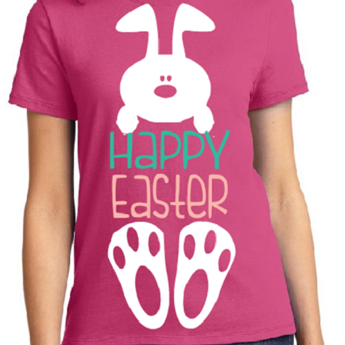 Easter Shirt Happy Easter Adult All Colors