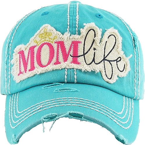 Caps Women's Hat Mom Life Many Colors