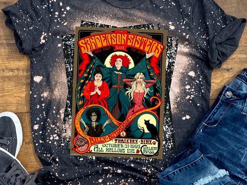 BLEACHED TEE Short or Long Sleeve Sanderson Sisters