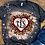 Thumbnail: BLEACHED TEE Short or Long Sleeve Valentine Monogram#1