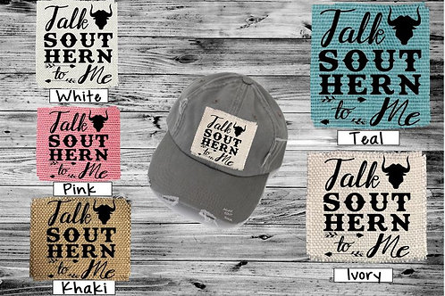 Sublimated Trucker Hats Many Colors Talk Southern to Me