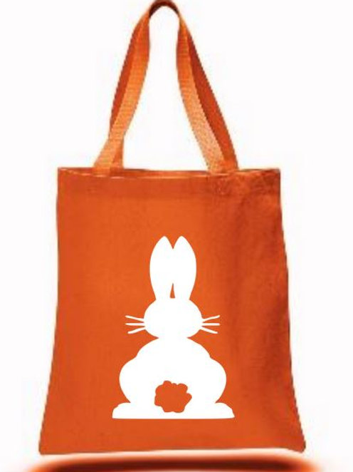 Easter Basket Tote Bags Canvas Colored Bags All Colors Style #1