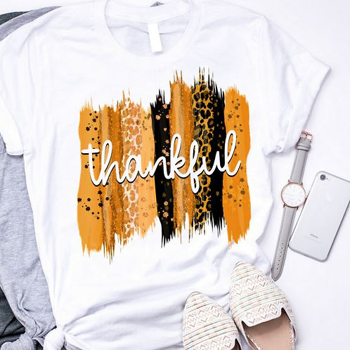 SUBLIMATED TRANSFER ONLY Thankful Backsplash Orange
