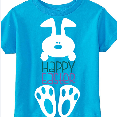 Easter Shirt Happy Easter Youth and Toddler All Colors
