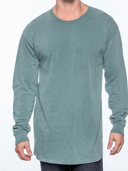 Comfort Colors Unisex Adult Long Sleeve Tee Blue Spruce