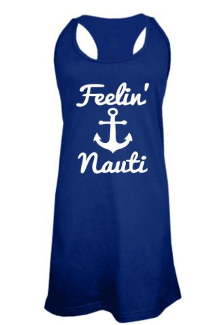 BATHING SUIT COVER UP GRAPHIC Feelin Nauti
