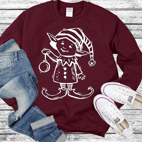 Sweatshirt Christmas Elf