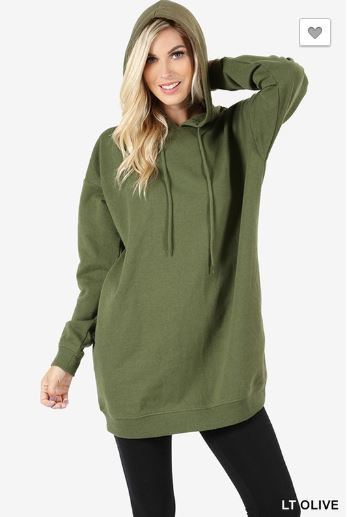 b3cfdf86e OVERSIZED HOODIES SWEATSHIRTS Color: Burgundy, Charcoal, Black, M.Grey,  Navy, Lt. Olive, Hunter Green, Khaki, Blue Mist Long Sleeve Oversized Hoodie,  ...