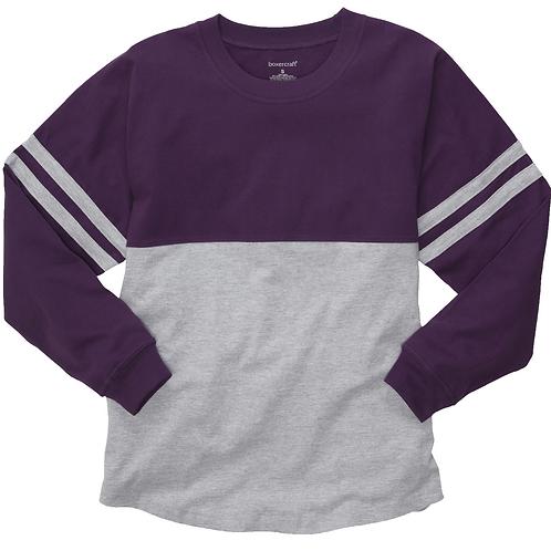 Boxercraft Pom Pom Jersey Adult or Youth Purple/Gray