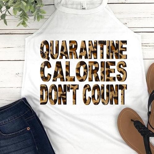 SUBLIMATED TEE Rocker Tank Top Quarantine Calories