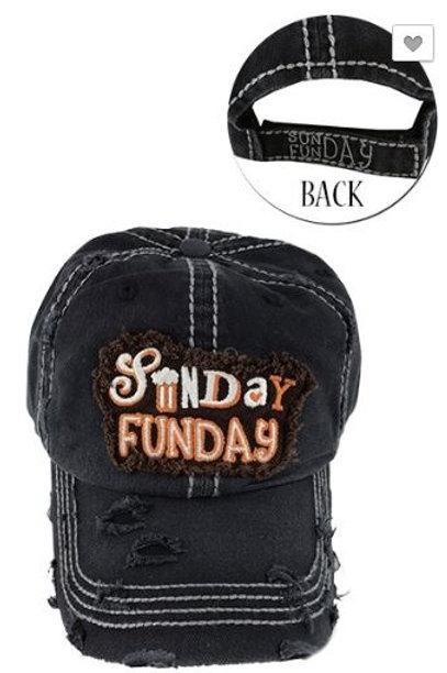 Sunday Funday Caps Women's Hat