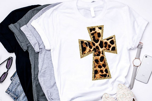 SUBLIMATED TRANSFER ONLY Cross Leopard