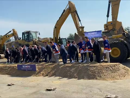 GOVERNOR CUOMO TOUTS LOCAL BENEFITS TO COME WITH ISLES NEW STADIUM