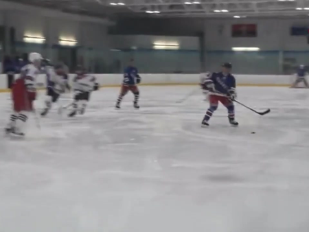 Rangers alumni participate in charity game benefitting local hockey organization