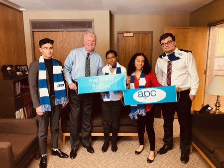 FTC heads to Albany for the APC's 2019 Advocacy Day to lobby for tuition assitance.
