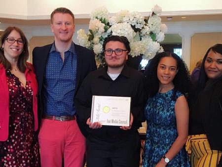 WFTU Radio students win prestigious Folio Award from Fair Media Council