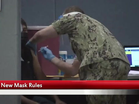 NEW MASK RULES FOR VACCINATED PEOPLE