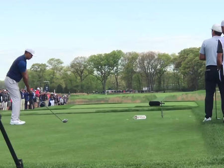 the tiger woods golf swing