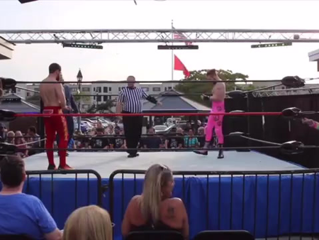 HOW CURRENT PRO WRESTLING CHAMP ENTERED THE RING