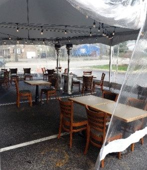 OUTDOOR DINING GETS EASIER FOR LI TOWN