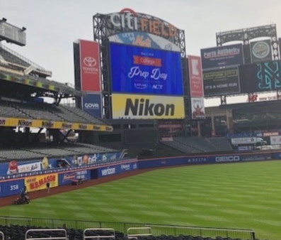 Tyler Brandt REPORTS FOR KAPLAN from CITI FIELD