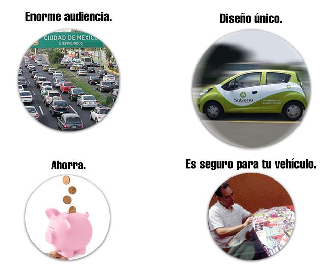 Ventajas y beneficios de la Rotulación Vehícular.