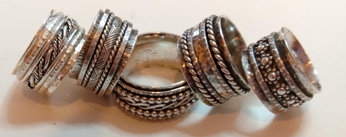 Fidget Rings  Spinner Rings