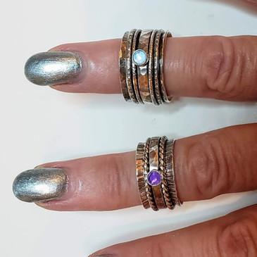 Fidget spinner rings $85-$120