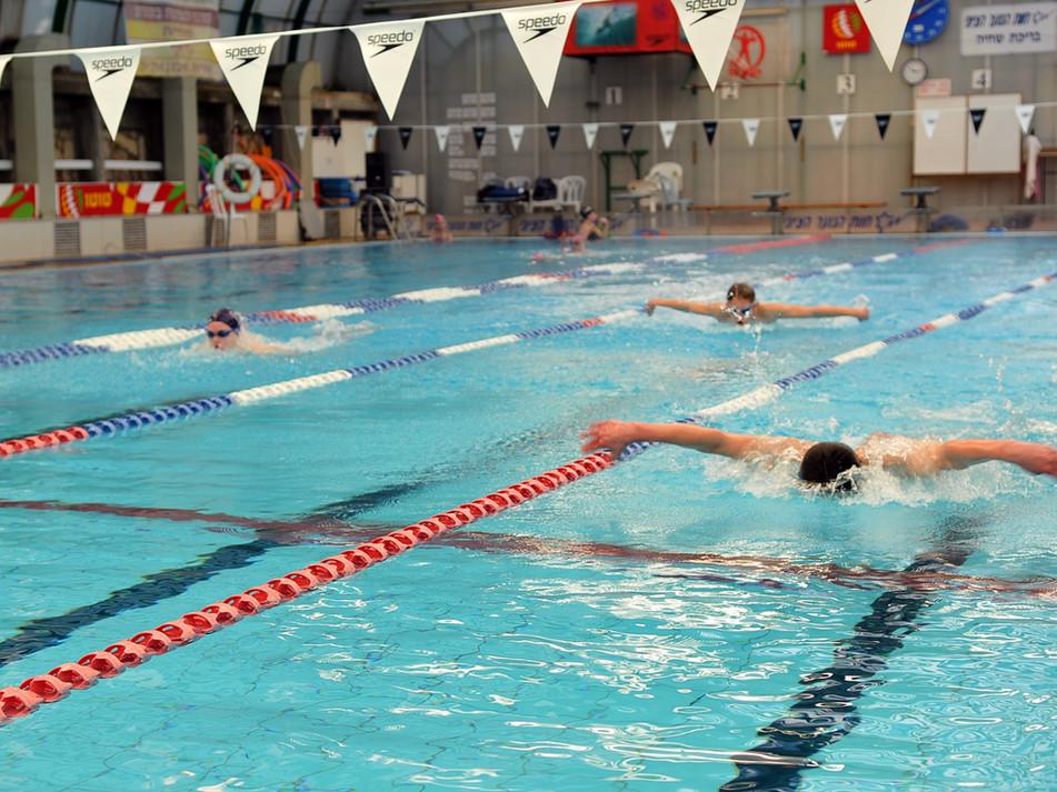 שחייה תחרותית