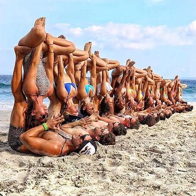 Acro aerial yoga narellan camden macarthur
