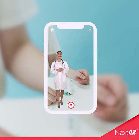 Artırılmış gerçeklik sağlık sektöründe kullanımı ve hologram