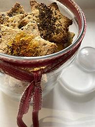 Bolachinhas salgadas low carb - biscoitos de aveia saudaveis
