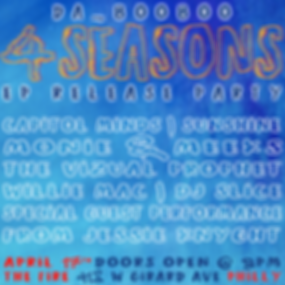 da_BooBoo 4 Seasons EP Release Party at The Fire Philly