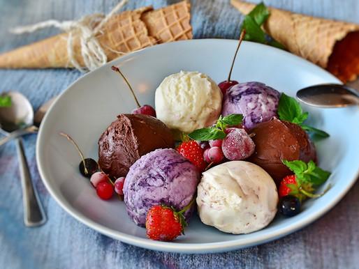 Como fazer um gelado caseiro saudável