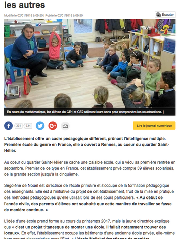Ouest France - 01/02/18 (1/2)