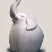 Bobo Elephant Sculpture