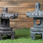 Kanazawa and Kyoto Lanterns