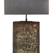 Wood Slab Lamp