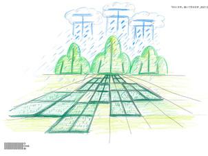 オンラインキッズクラス・レポ〜文字をテーマに絵を描く〜