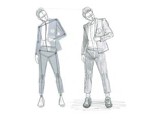 スーツ男子を描こう!