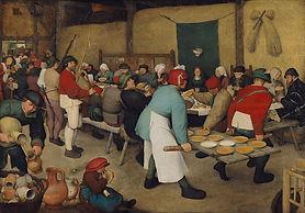 前半画像:「農民の婚宴」1568年_ピーテル・ブリューゲル.jpg