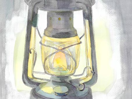 12/18(金)冬の明かりを描く!透明水彩講座