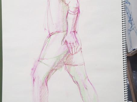 11/17(火)人物クロッキー後記