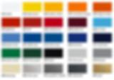 Цветовая раскладка oracal 970 серии
