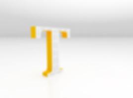 Объемная буква со светодиодами для контражурной засветки, Световые буквы в Черкассах, Объемные буквы в Черкассах, Наружная реклама в Черкассах