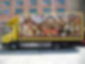 Поклейка грузового и грузопасажирского авто, поклейка автобусов