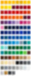 Цветовая раскладка oracal 751 серии